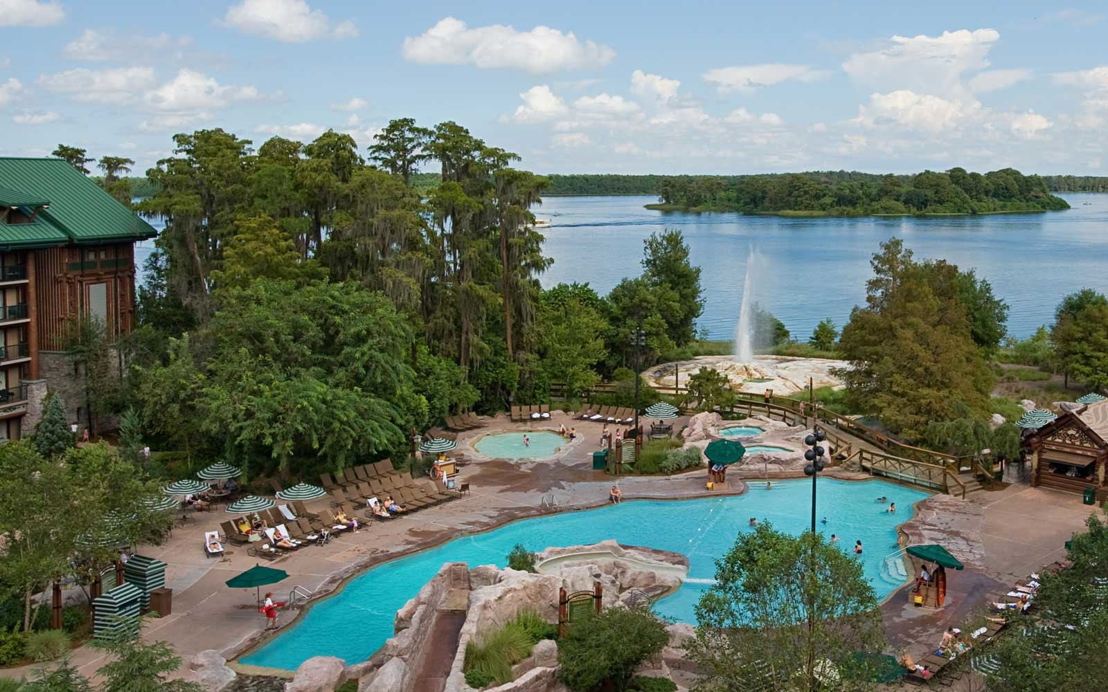 Pool at Disney's Wilderness Lodge