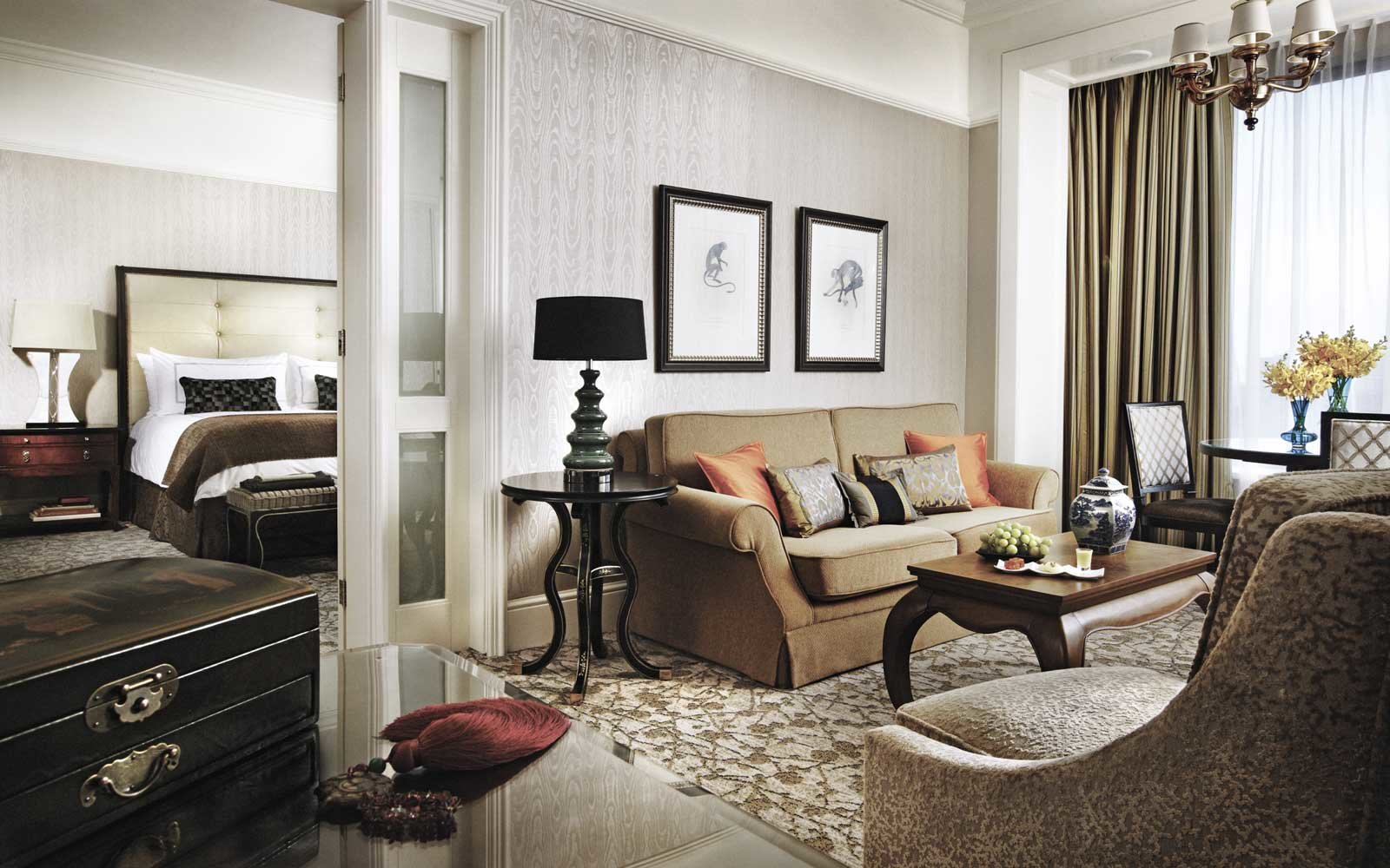 Room at the Four Seasons Hotel Singapore