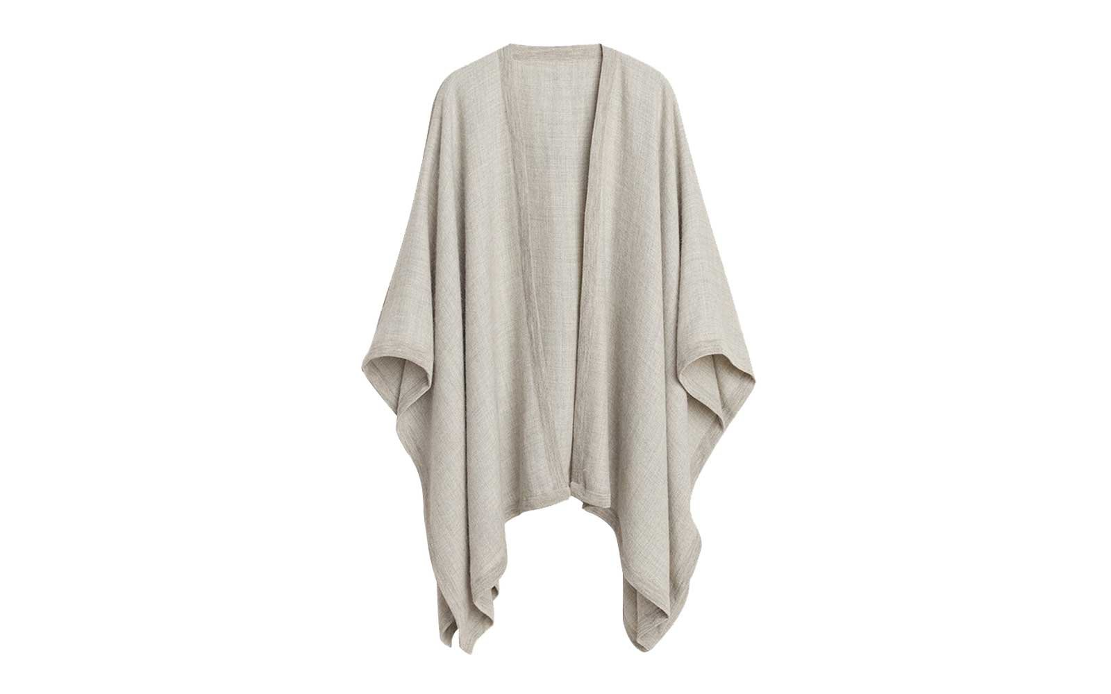 Baby Alpaca Square Edge Cape