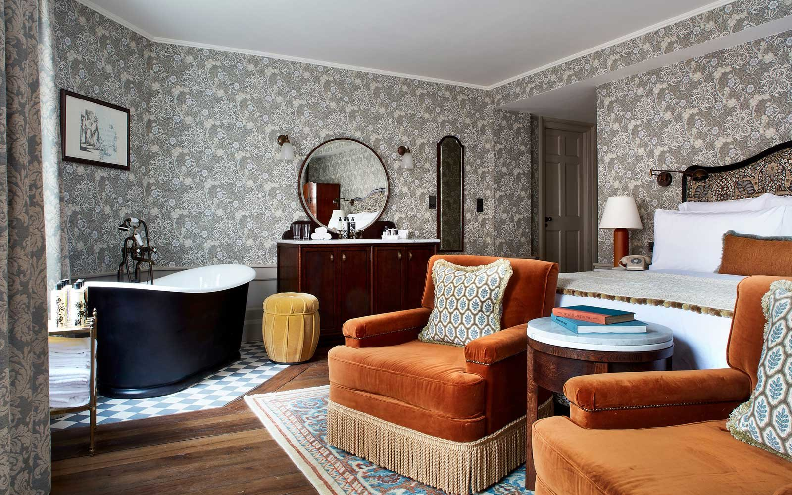 Room at Kettner's Townhouse, in London
