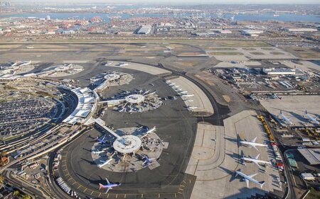 Newark Airport Map and Terminal Guide: Parking, Public ...
