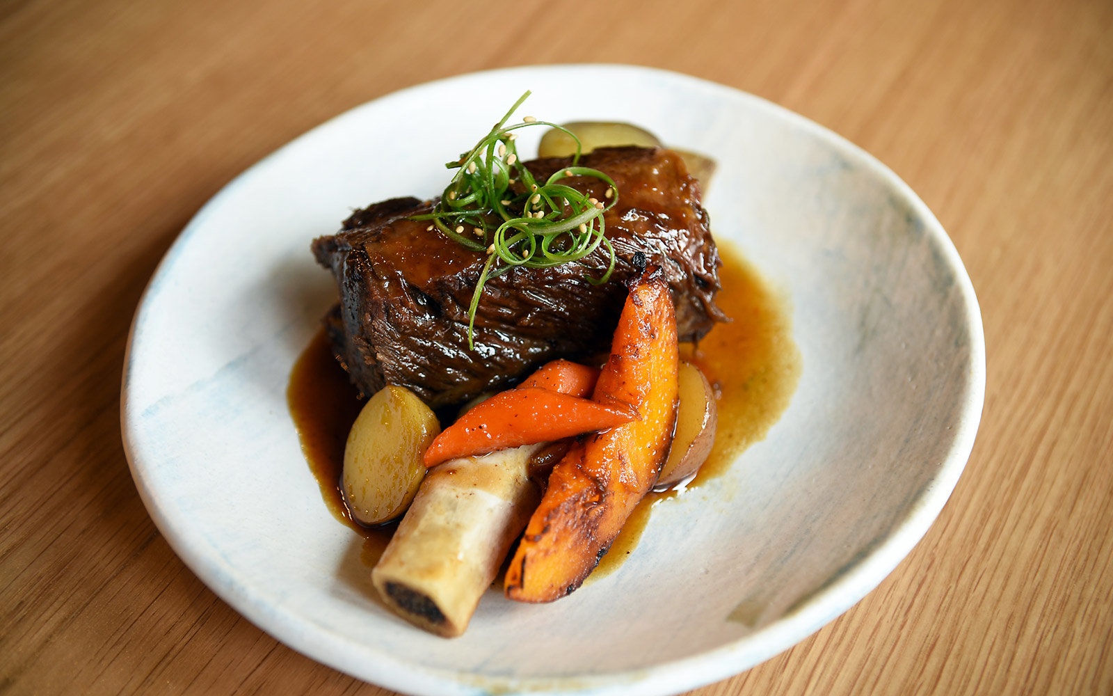 Short Rib at Soogil, New York City