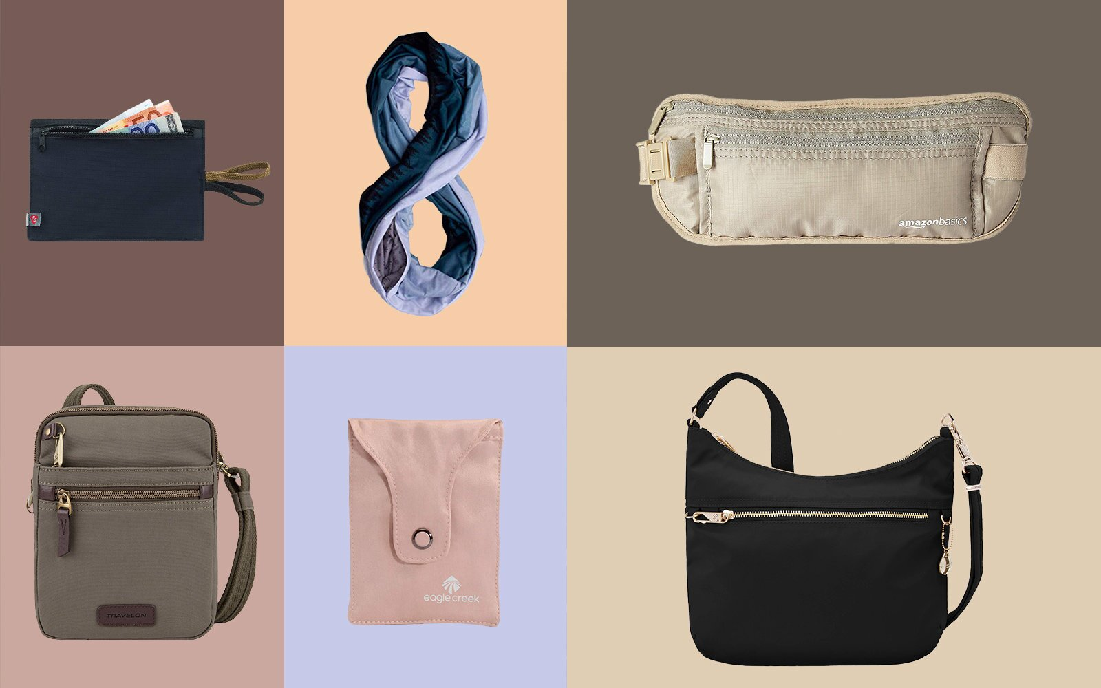 cc96b11020d8 The Best Money Belts for Travel in 2019 | Travel + Leisure