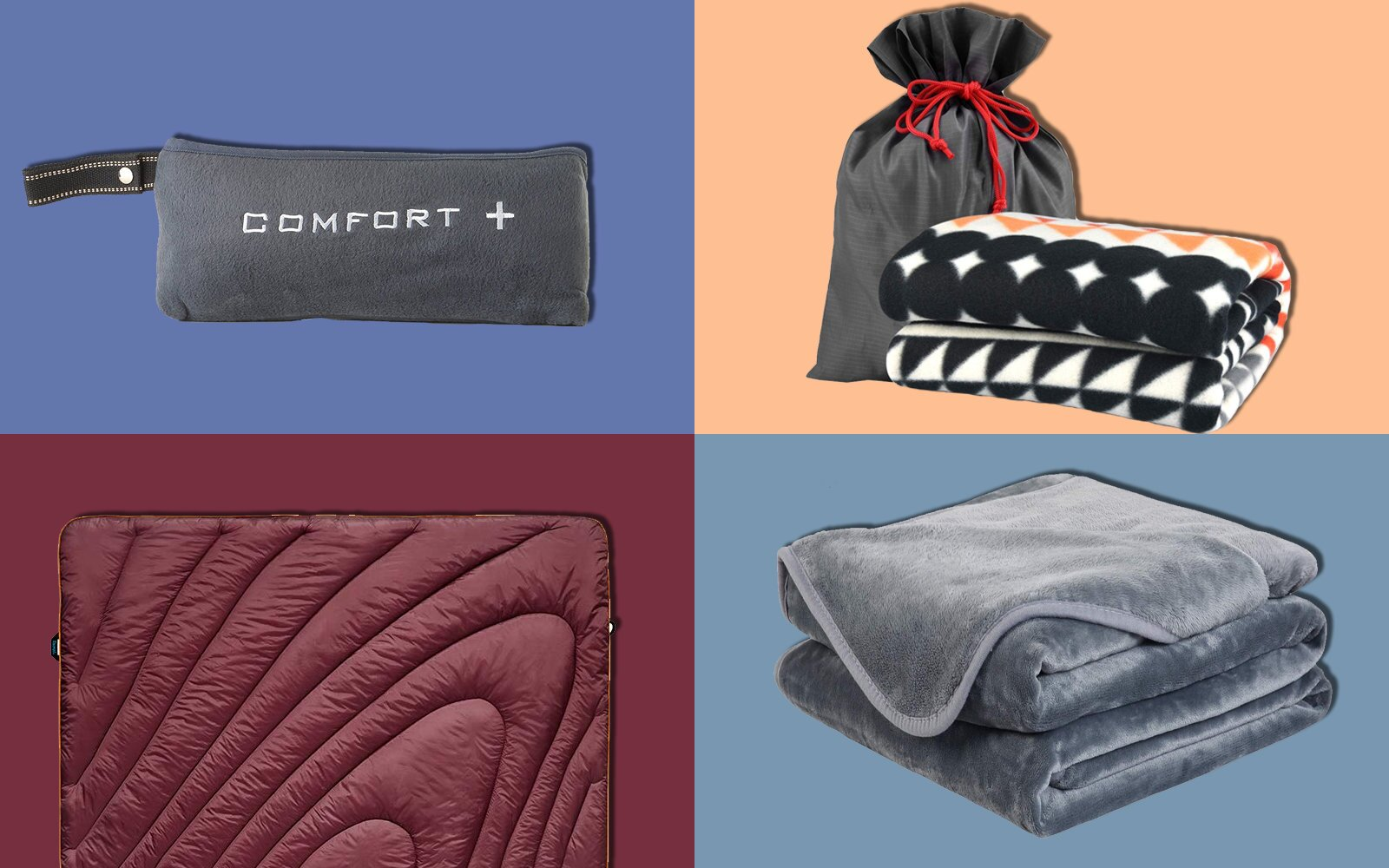 a7c8631b The Best Travel Blankets to Keep You Warm on Flights   Travel + Leisure