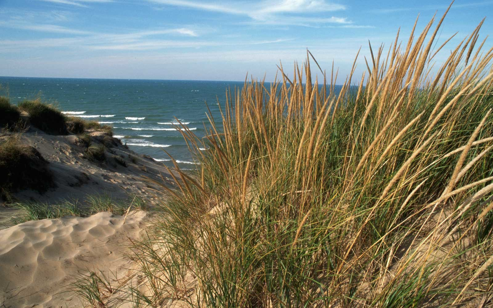 How was Indiana Dunes National Park formed?
