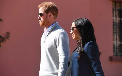 f0d6c6c8f037f Prince Harry and Meghan Markle Took a Secret Trip to L.A. to Visit ...