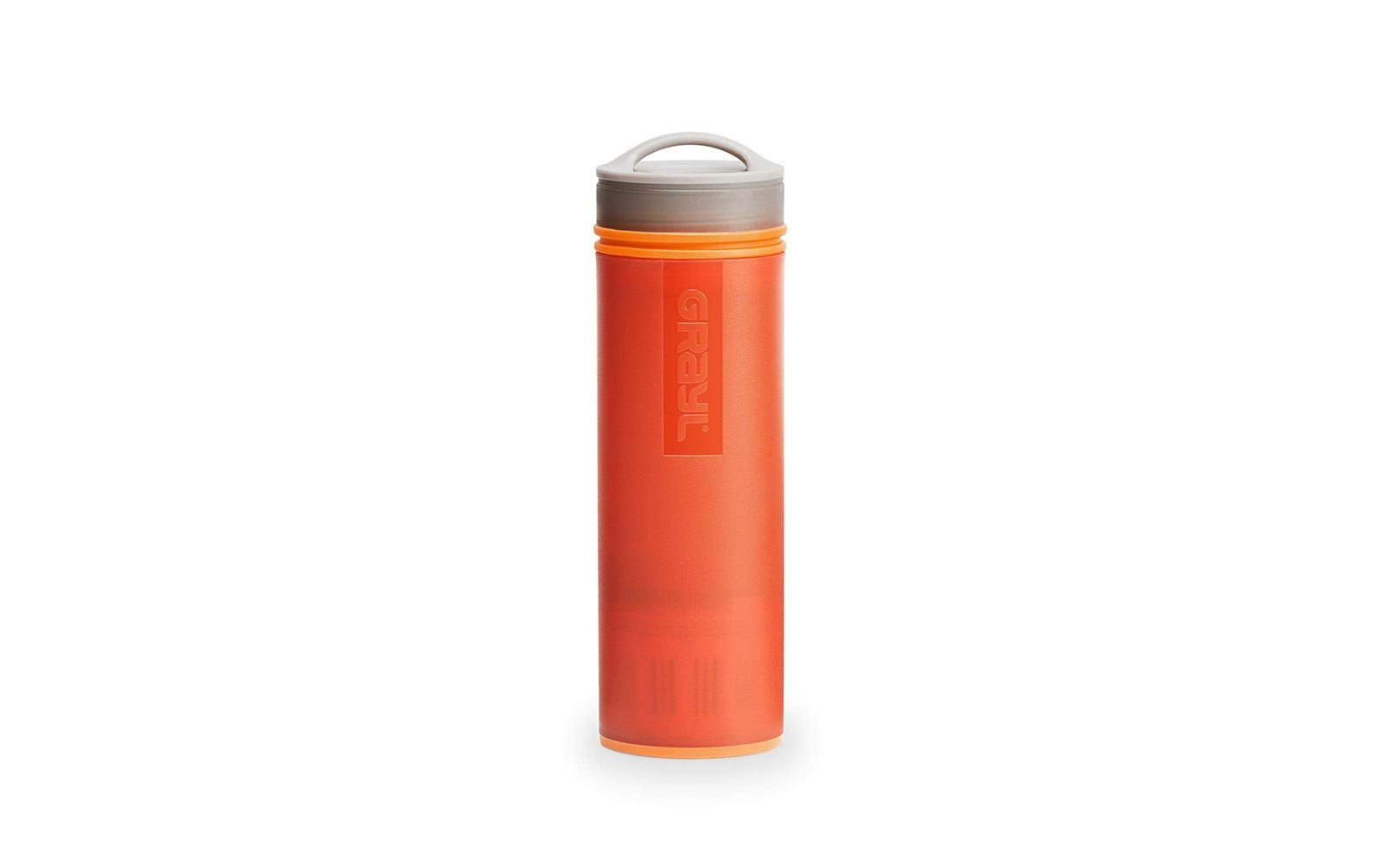 Water purifying bottle