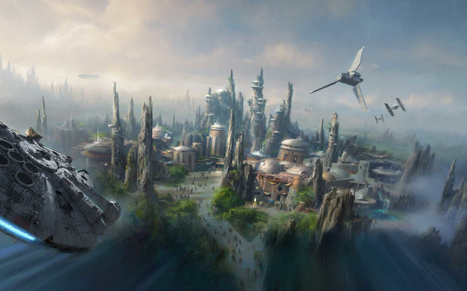 Star Wars Land - Artist Concept