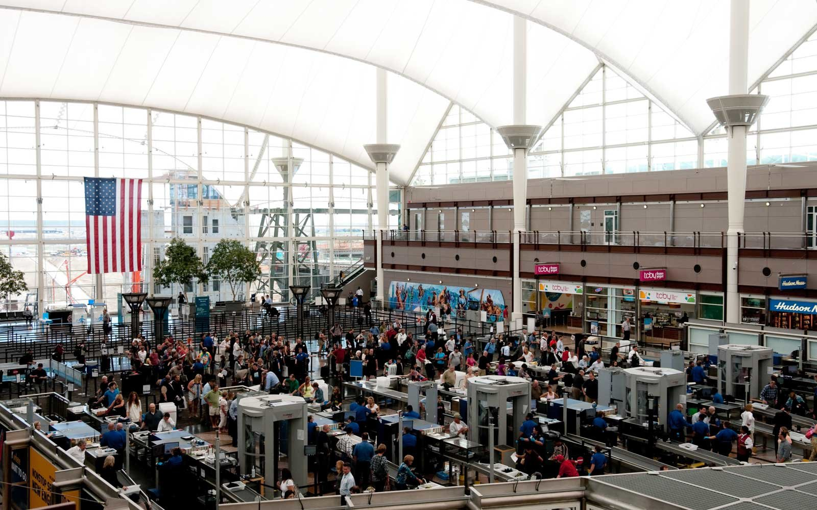A record number of travelers are expected in U.S. airports this Spring Break season.
