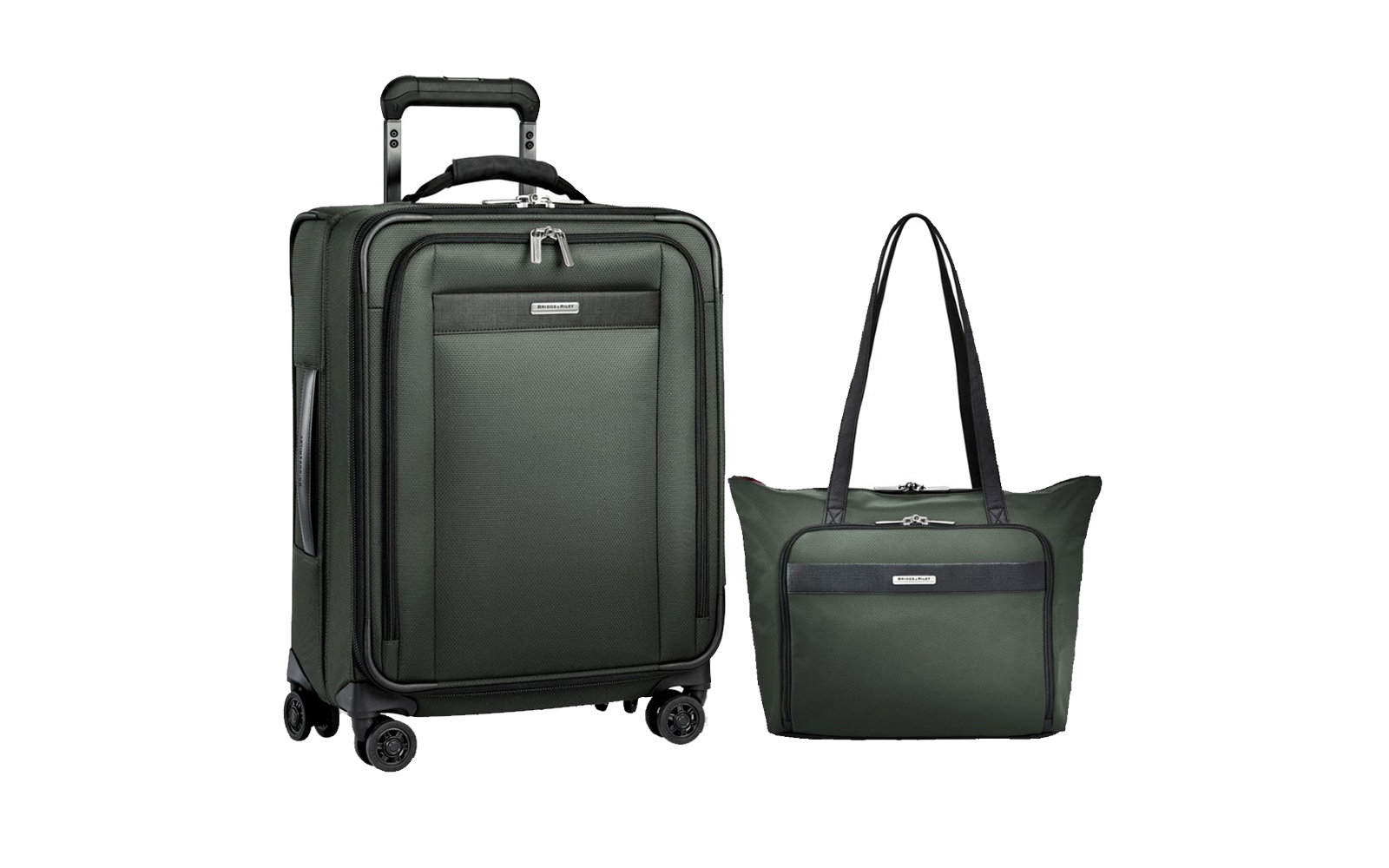 Briggs & Riley Carry-On Spinner and Tote