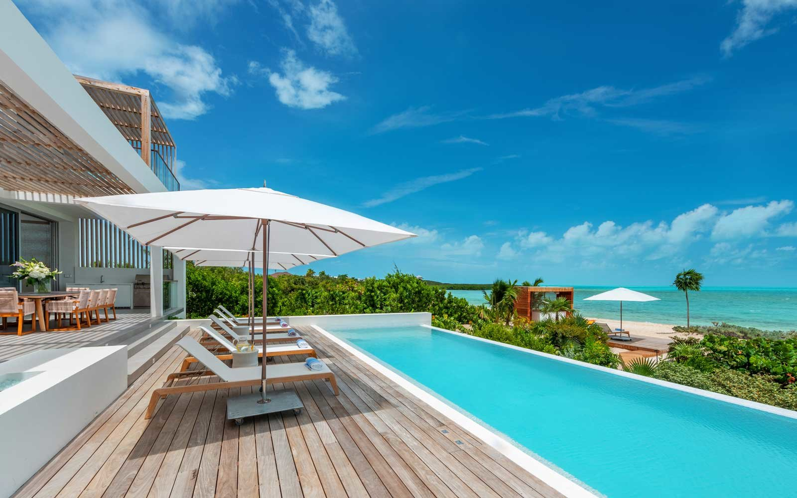 So Many Celebrities Are Renting These New Turks and Caicos Villas, You'll Have to Sign an NDA Upon Arrival (Video)