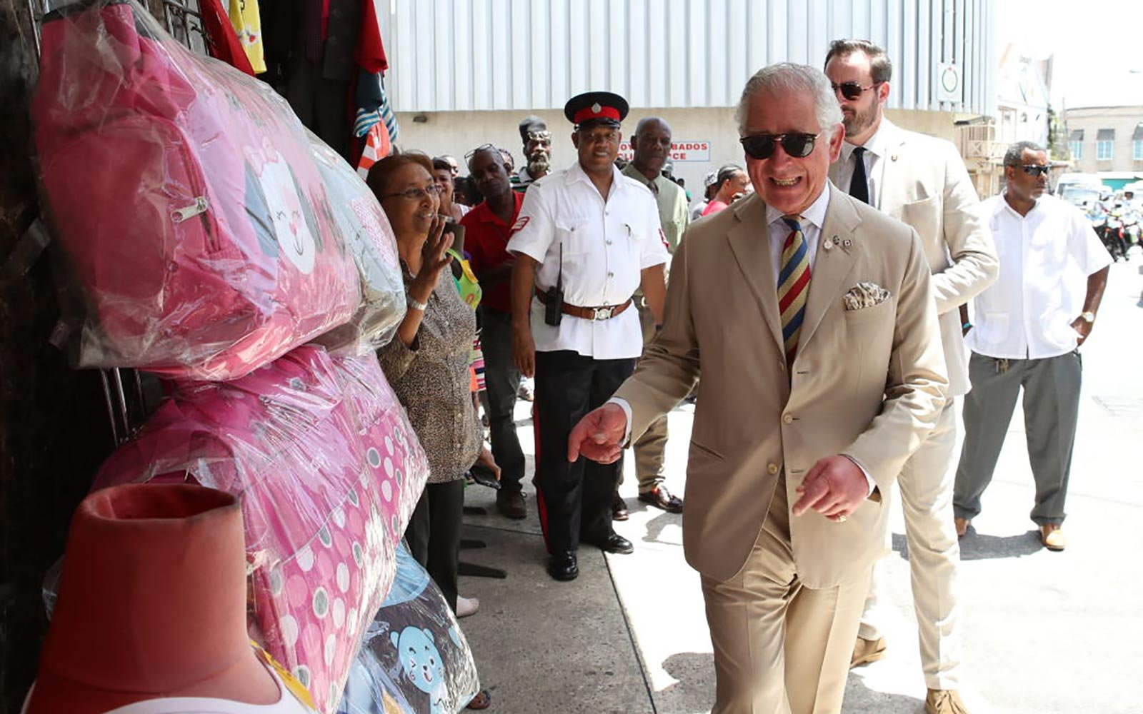 Prince Charles in The Caribbean