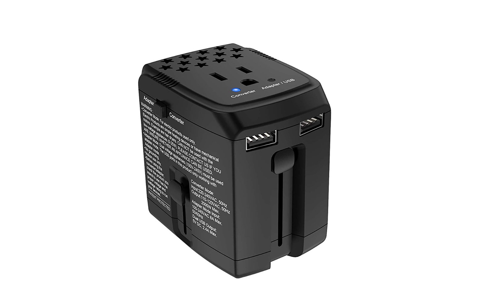 Bonazza travel adapter and converter