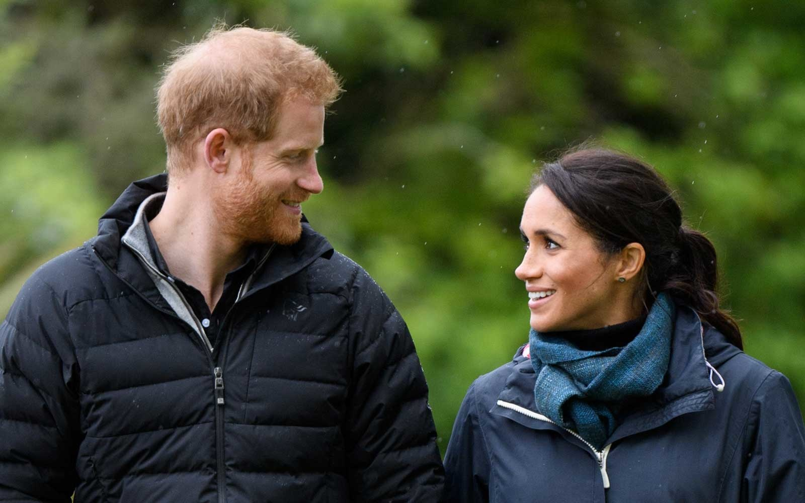Prince Harry and Duchess Meghan of Sussex