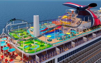 Carnival Cruise Line >> The Carnival Mardi Gras Cruise Ship Will Have Premium Suites