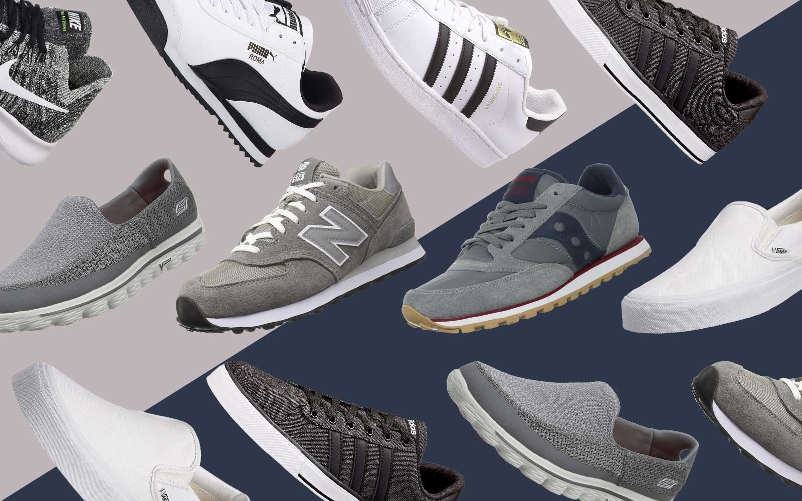 These Are the 15 Most Comfortable Men's Sneakers You Can Get on Amazon
