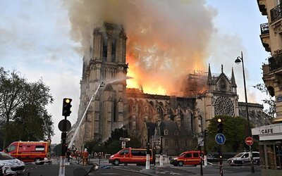 bf24990d8929b Notre Dame Relics Sent to the Louvre As Millions Are Pledged to ...