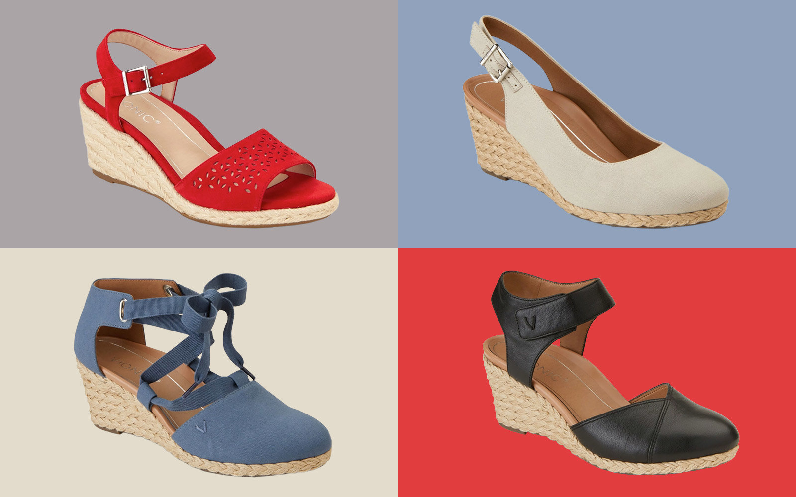 Vionic Espadrilles for Travel