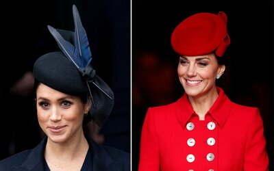 9b52b0b4c Kentucky Derby Hats Inspired by Kate Middleton and Meghan Markle ...