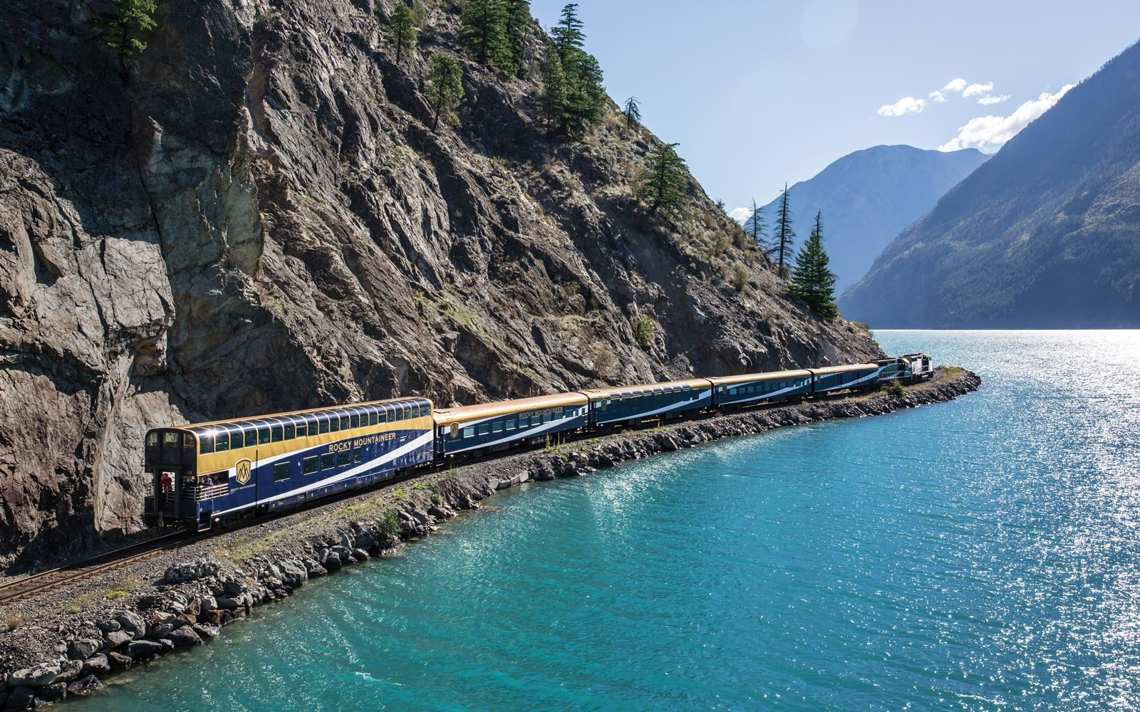 This Glass-domed Train Through the Canadian Rockies Is One of the Most Scenic Rides in the World (Video)
