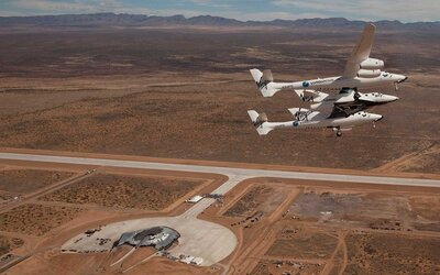 Virgin Galactic's Space Flights Will Take Off From the New