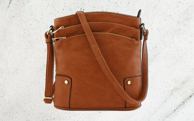 This 24 Cross Body Is The Key To Keeping Your Bag Organized