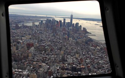 Uber Is Launching Helicopter Rides in NYC so You Can Get