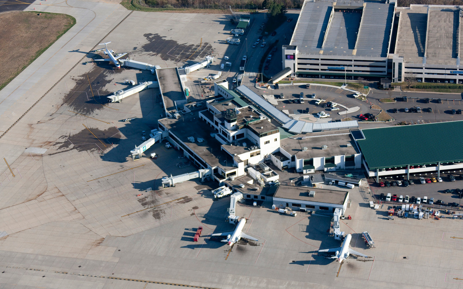 Yeager Airport in Charleston, WV