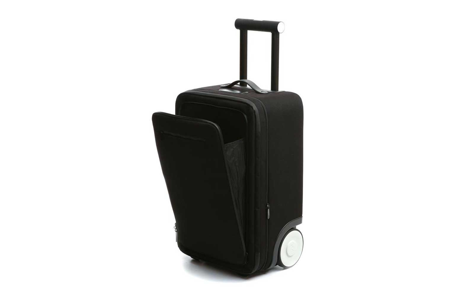 the marlon smart carry on suitcase