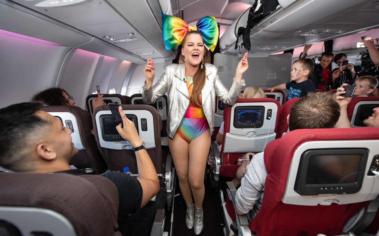 Virgin PRIDE Flight