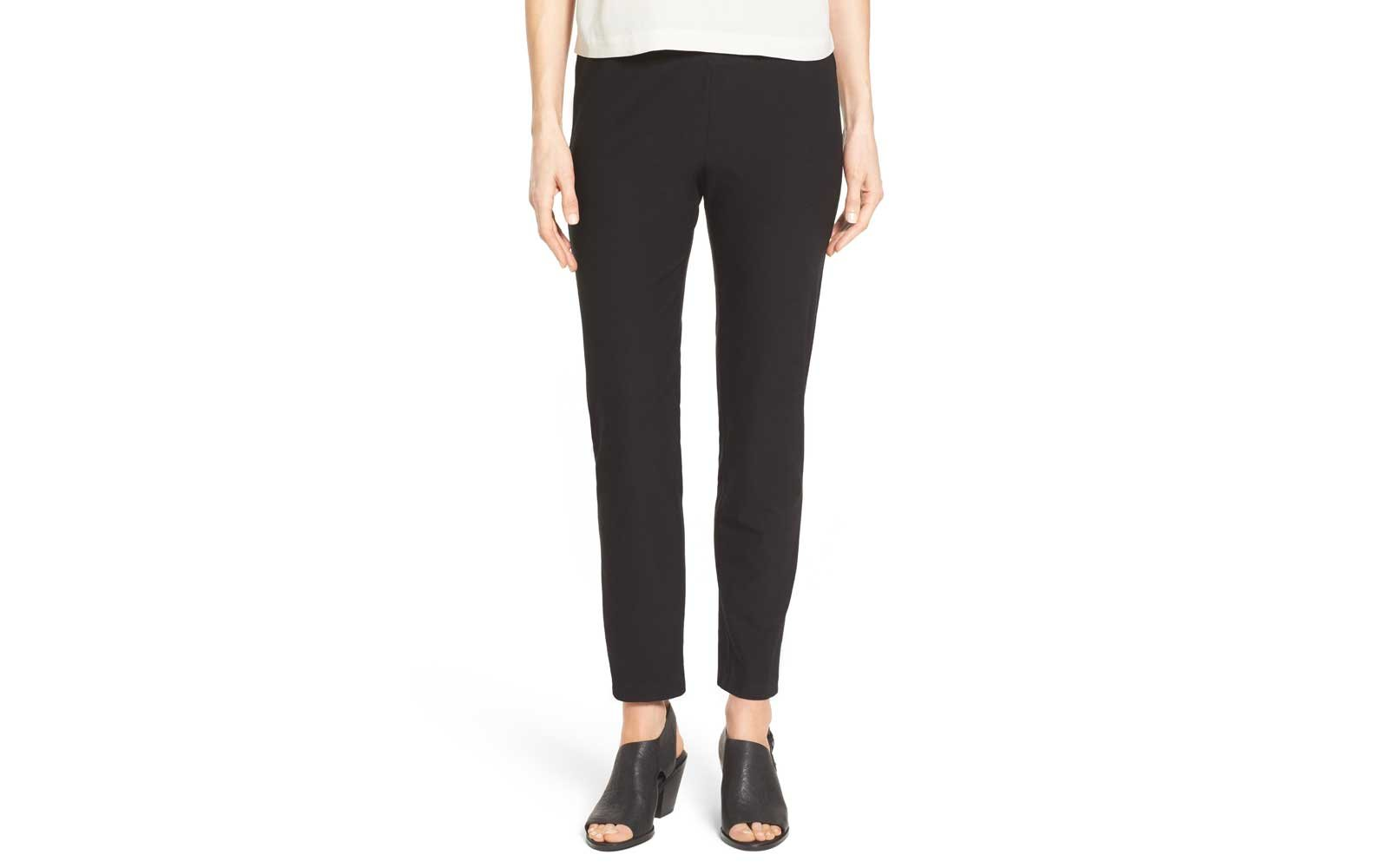 best eileen fisher travel pants for women