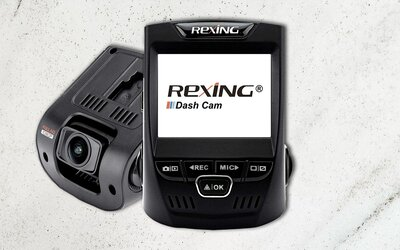 Prime Day 2019 Rexing V1 Car Dash Cam Deal Travel Leisure