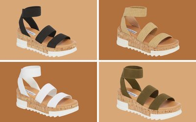 4ab9f538eb3 These Strappy Wedge Sandals Are Surprisingly Comfy — and They've Got ...