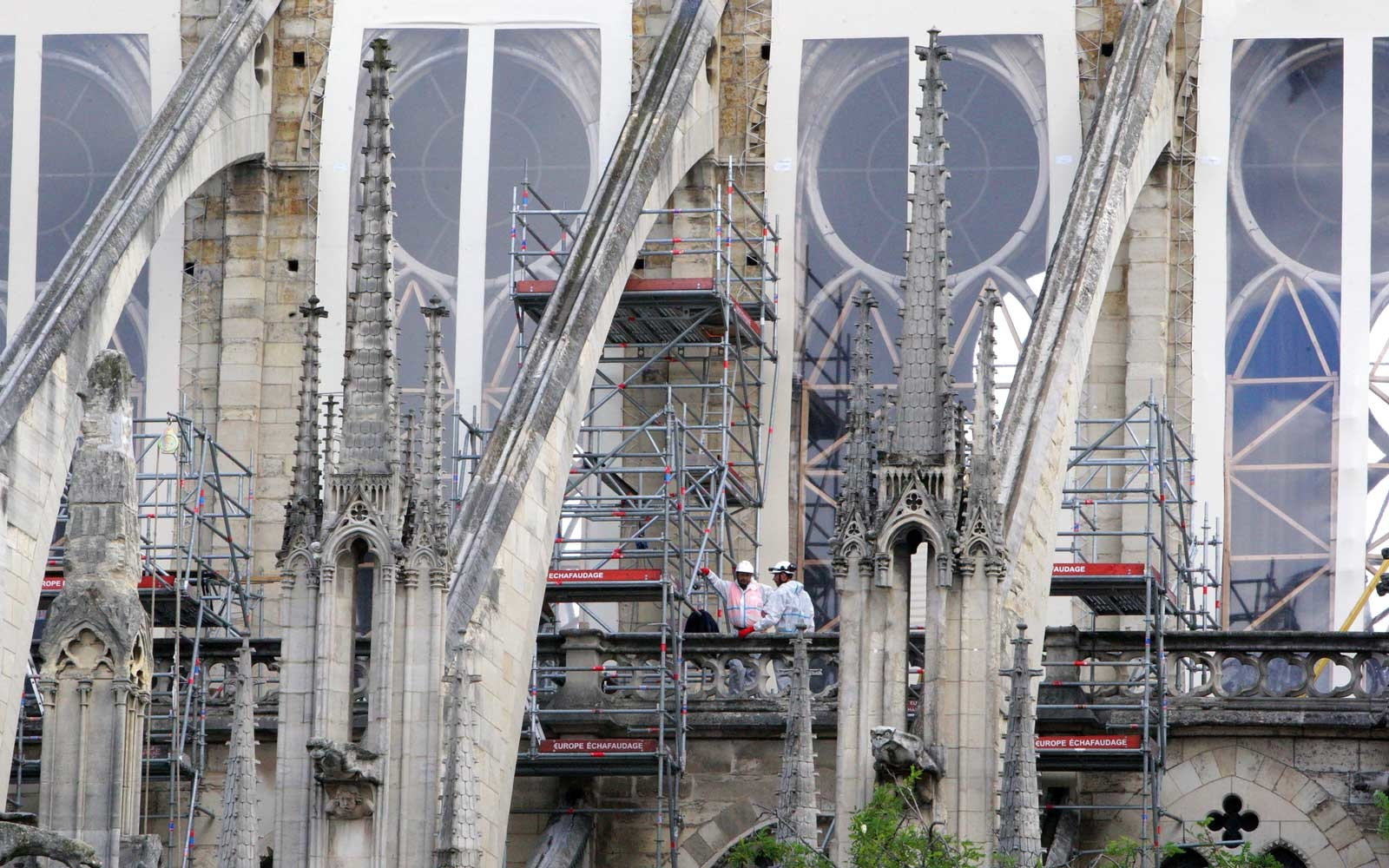 Notre Dame Cathedral reconstruction