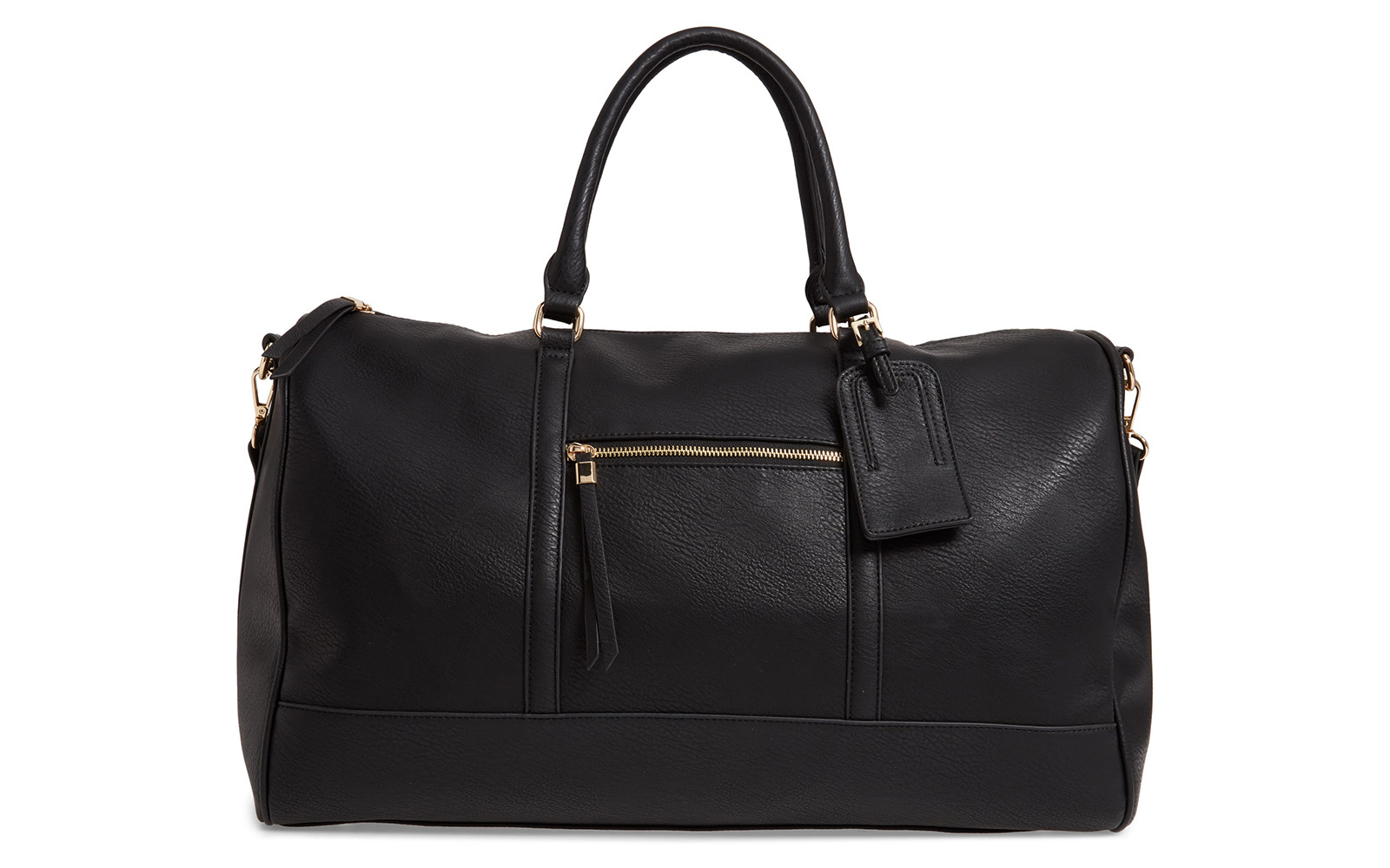 Sole Society 'Devon' Faux Leather Weekend Duffle Bag