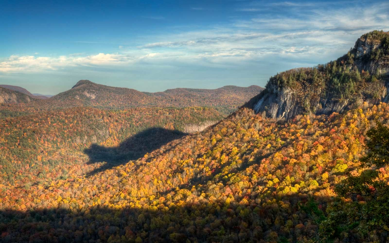Blue Ridge Mountains, North Carolina, Shadow of the Bear