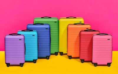 Away Is Releasing Its Most Colorful Luggage Ever Thanks to