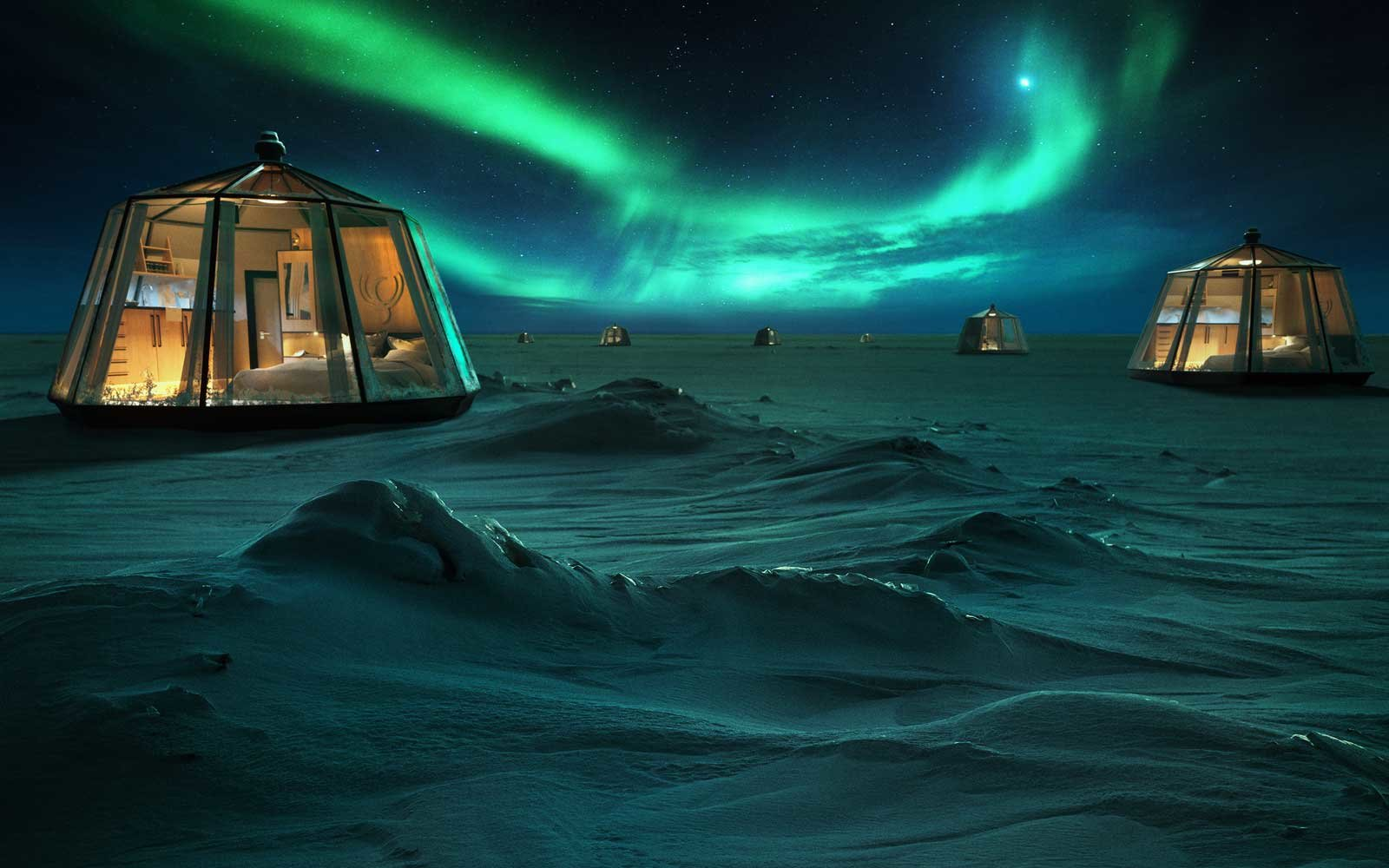 North Pole Hotel by Luxury Action
