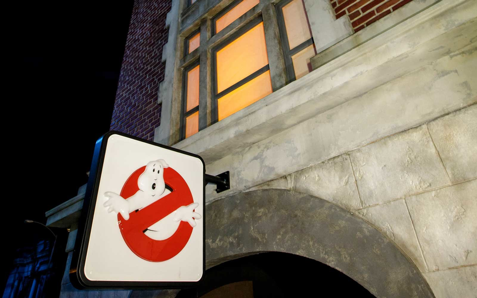 Universal Studios Ghostbusters Fire Station