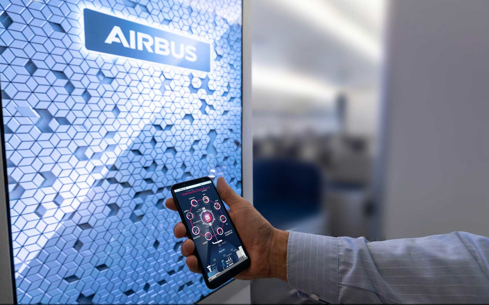 Airbus Airspace Connected Experience at APEX 2019