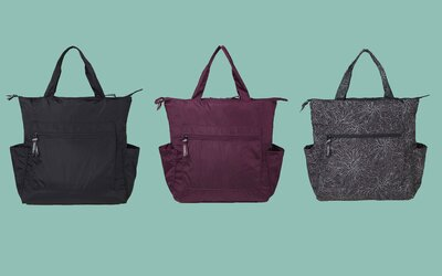 This Lightweight Travel Bag Converts From A Tote To