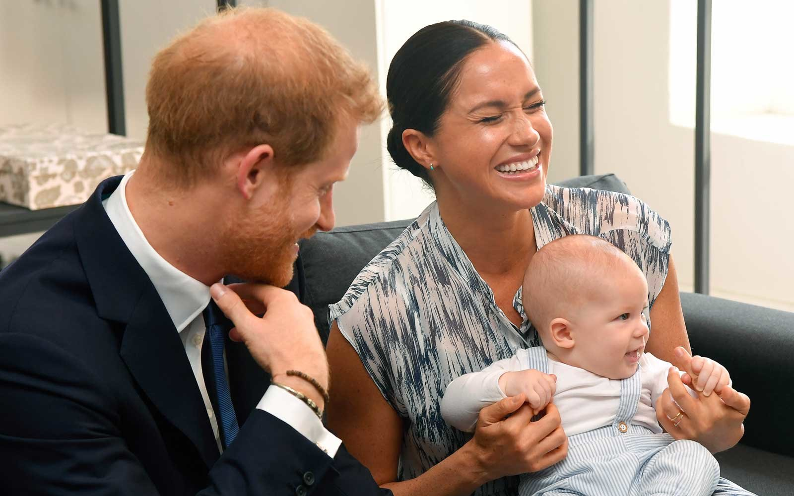 Sussex Royal with baby Archie