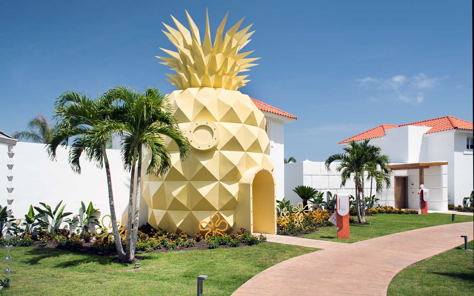 Pineapple suite at the Nickelodeon Resort in Punta Cana