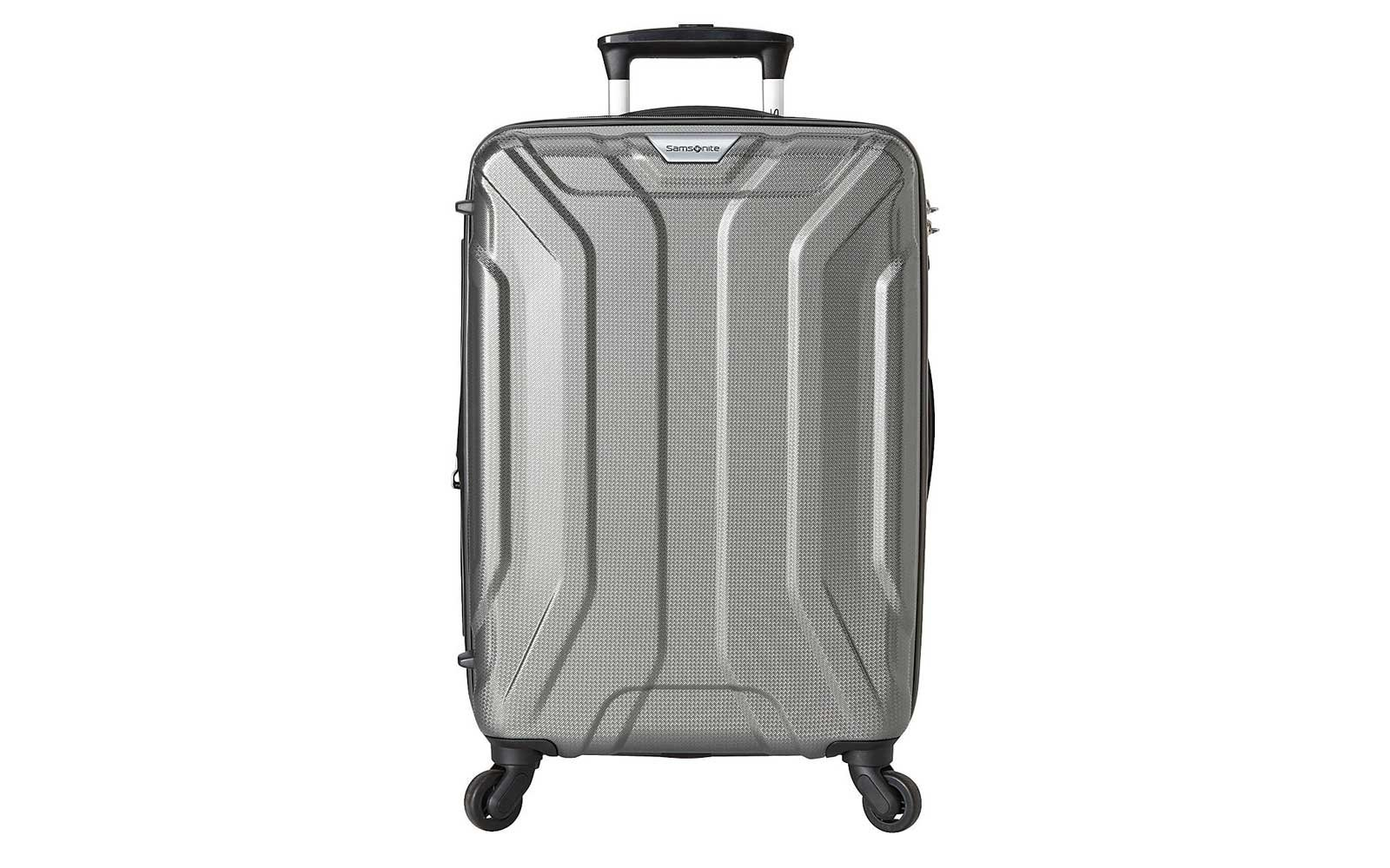 Silver Samsonite Hardside Carry-on Suitcase