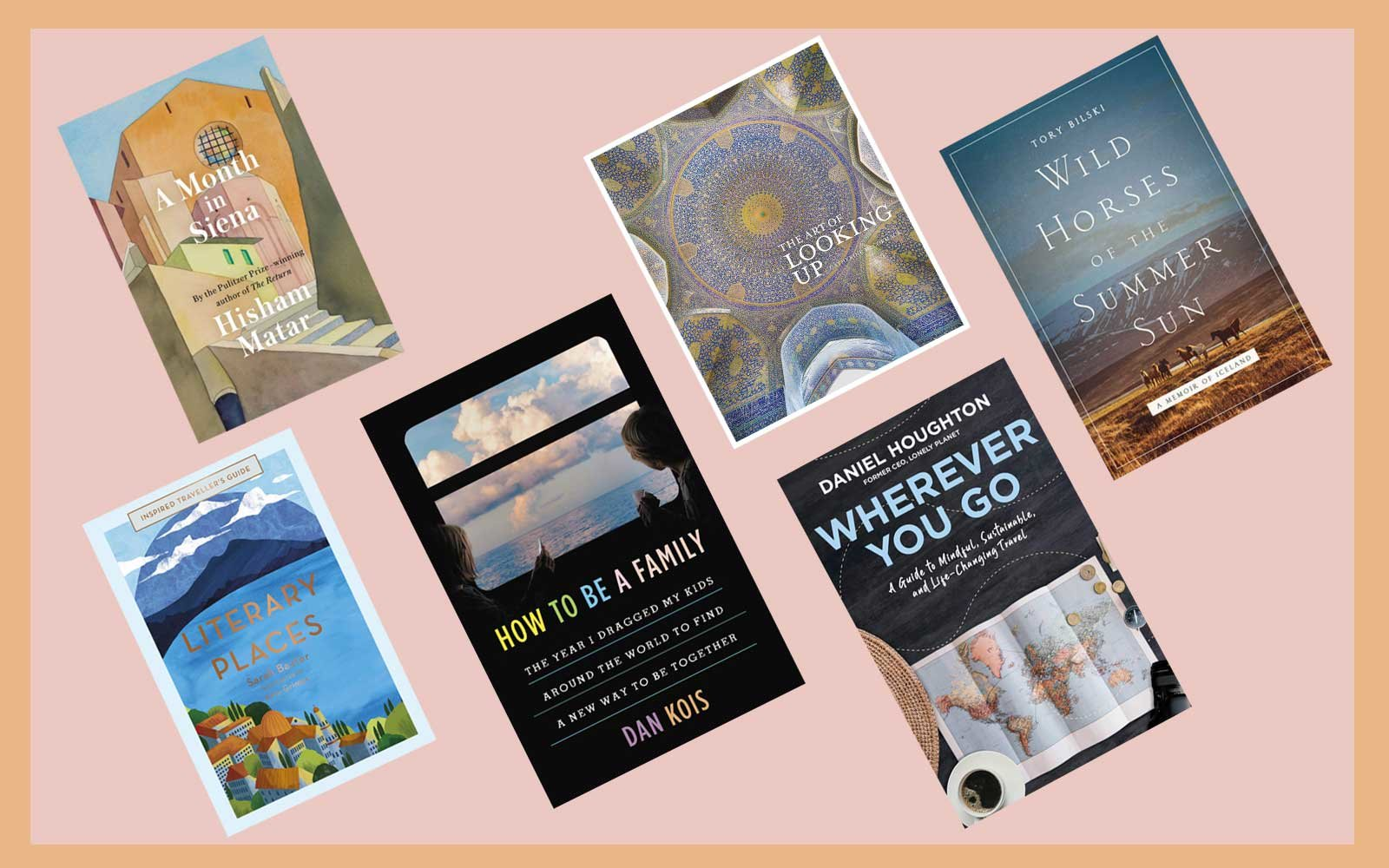 Six Travel Book Covers