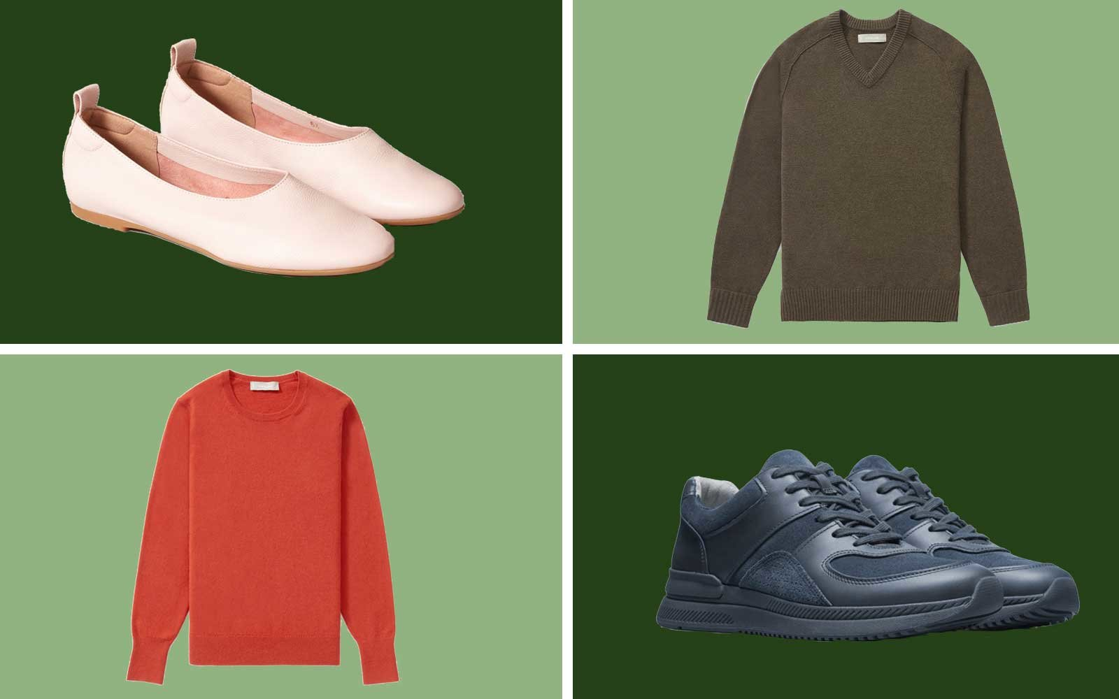 Everlane Sale Sweaters and Shoes