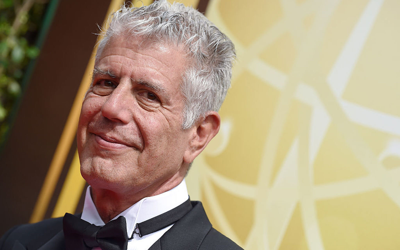 Chef Anthony Bourdain attends the 2015 Creative Arts Emmy Awards at Microsoft Theater on September 12, 2015 in Los Angeles, California.