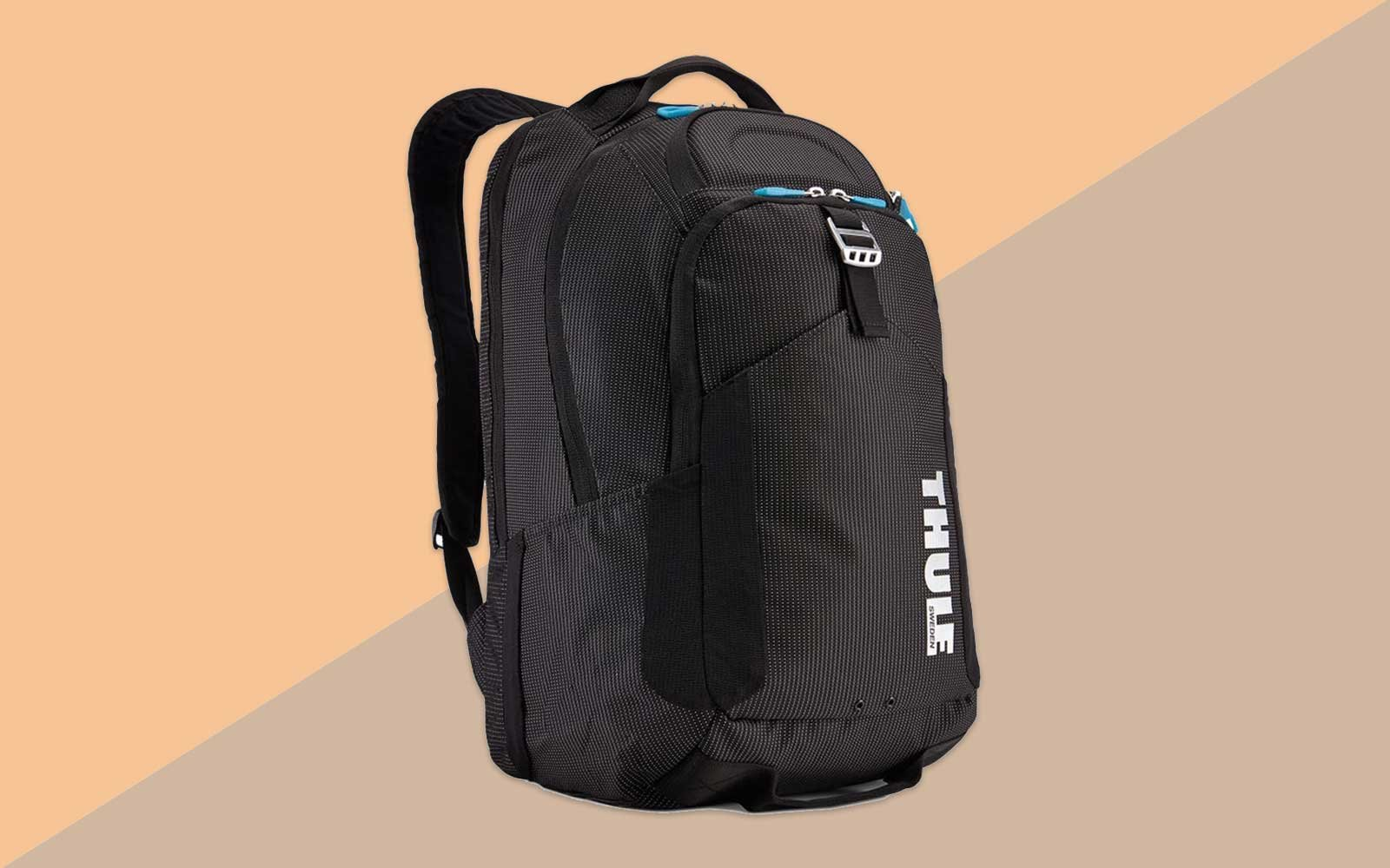 Black, Grey, and Blue Backpack