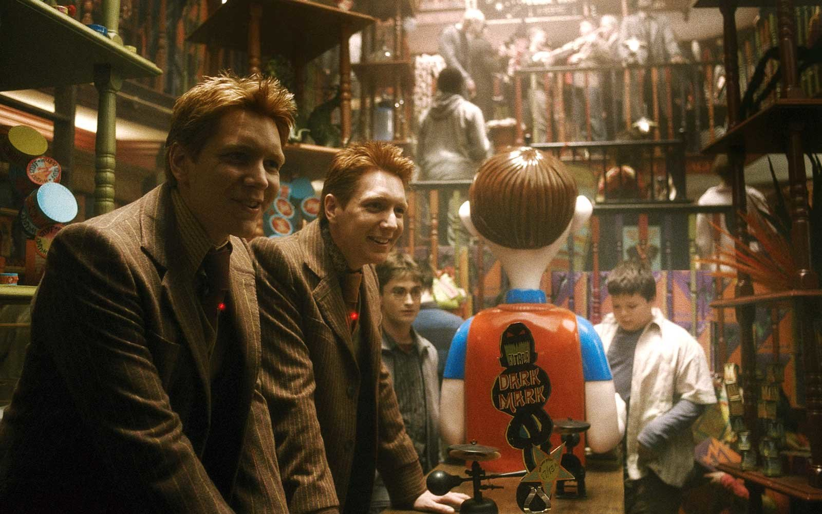 A film still from the movie, Harry Potter and The Half Blood Prince