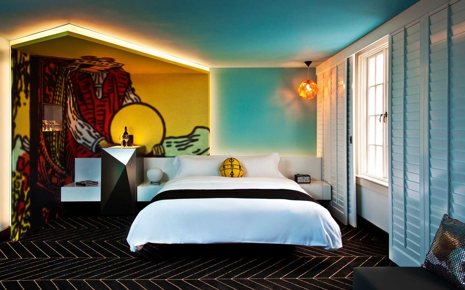 A room at W Hotels